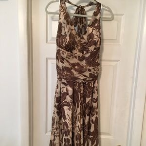 🌸 Jessica Howard Halter Floral Printed Midi Dress